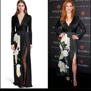 Altuzarra Target 20th black slinky dress